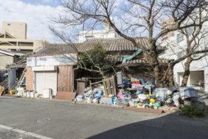 空き家ゴミ片付け 残置物 空き家部屋の片付け